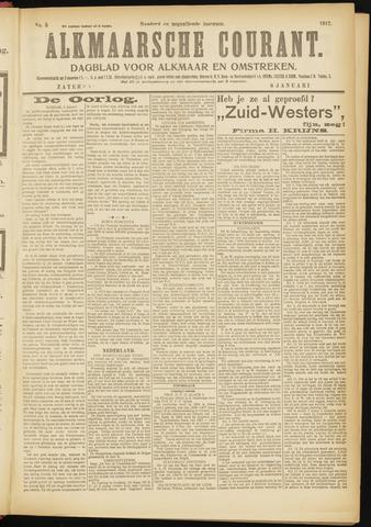 Alkmaarsche Courant 1917-01-06