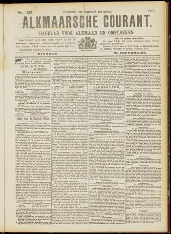 Alkmaarsche Courant 1907-09-24
