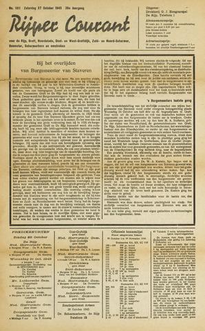 Rijper Courant 1945-10-27