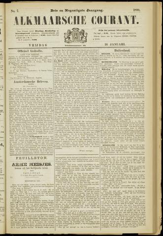 Alkmaarsche Courant 1891-01-16