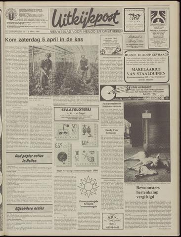 Uitkijkpost : nieuwsblad voor Heiloo e.o. 1986-04-02