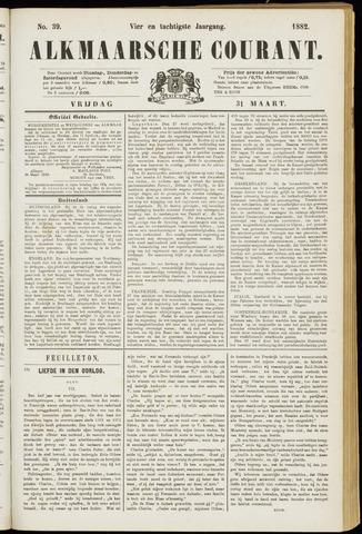 Alkmaarsche Courant 1882-03-31