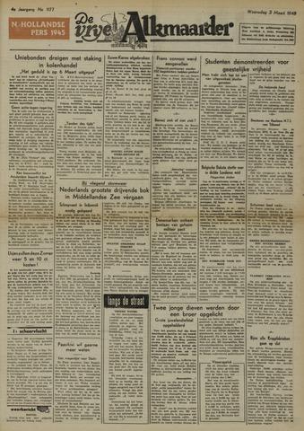 De Vrije Alkmaarder 1948-03-03