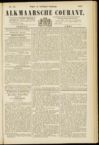 Alkmaarsche Courant 1887-05-06