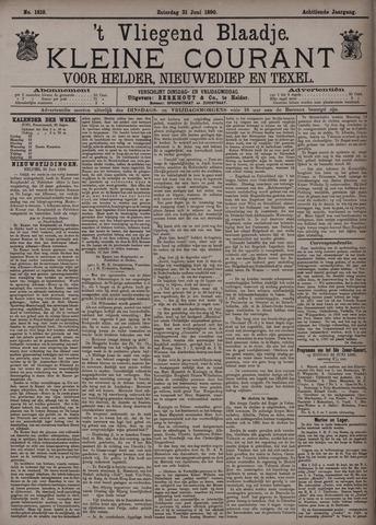 Vliegend blaadje : nieuws- en advertentiebode voor Den Helder 1890-06-21