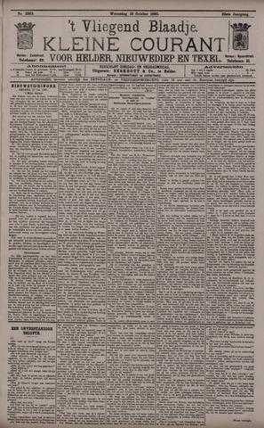 Vliegend blaadje : nieuws- en advertentiebode voor Den Helder 1895-10-16