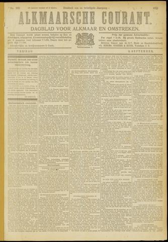 Alkmaarsche Courant 1919-09-05