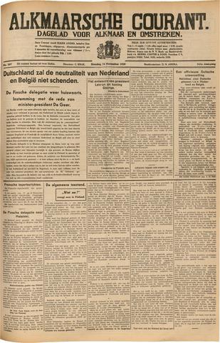 Alkmaarsche Courant 1939-11-14