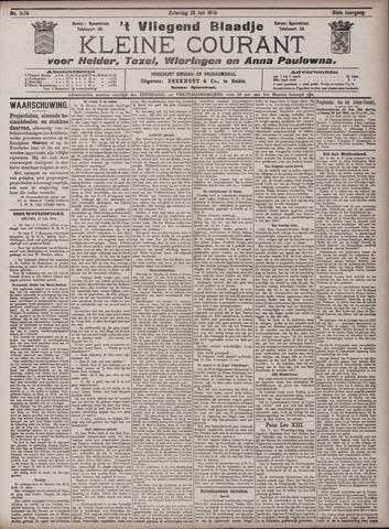 Vliegend blaadje : nieuws- en advertentiebode voor Den Helder 1903-07-25
