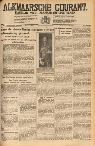 Alkmaarsche Courant 1939-12-02