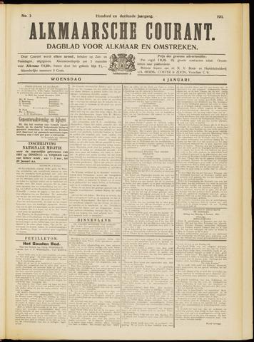 Alkmaarsche Courant 1911-01-04