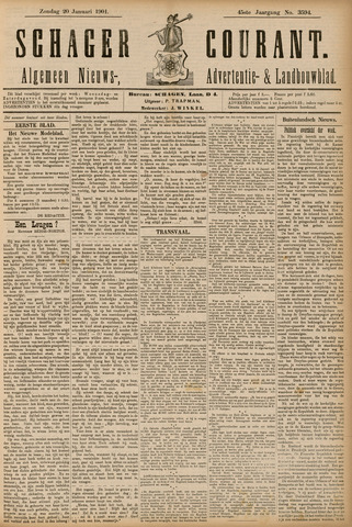Schager Courant 1901-01-20