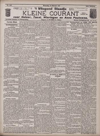 Vliegend blaadje : nieuws- en advertentiebode voor Den Helder 1913-02-19