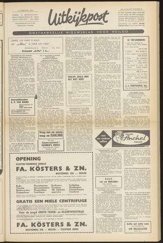 Uitkijkpost : nieuwsblad voor Heiloo e.o. 1964-02-13