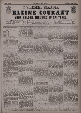 Vliegend blaadje : nieuws- en advertentiebode voor Den Helder 1884-05-03