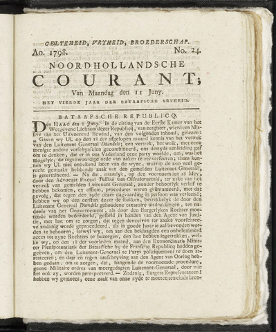 Noordhollandsche Courant 1798-06-11