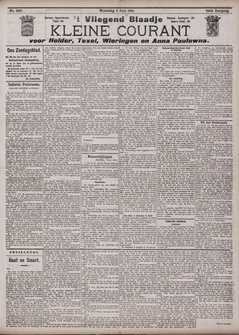 Vliegend blaadje : nieuws- en advertentiebode voor Den Helder 1904-06-08