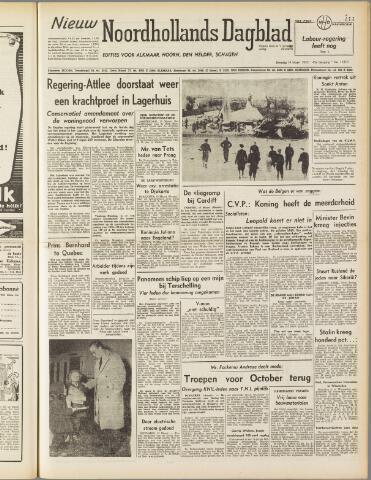 Nieuw Noordhollandsch Dagblad : voor Alkmaar en omgeving 1950-03-14