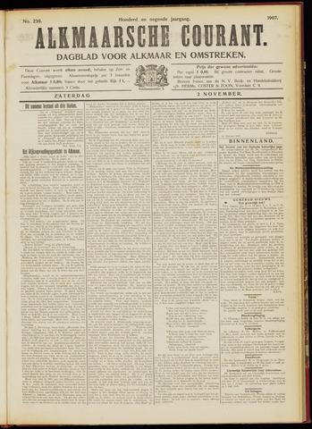 Alkmaarsche Courant 1907-11-02