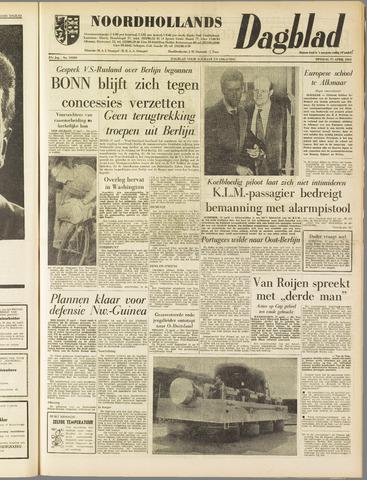 Noordhollands Dagblad : dagblad voor Alkmaar en omgeving 1962-04-17