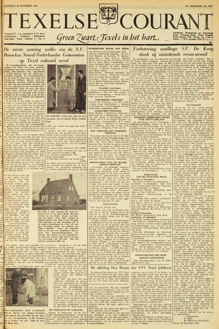 Texelsche Courant 1953-11-28