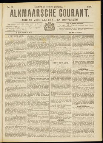 Alkmaarsche Courant 1906-03-15