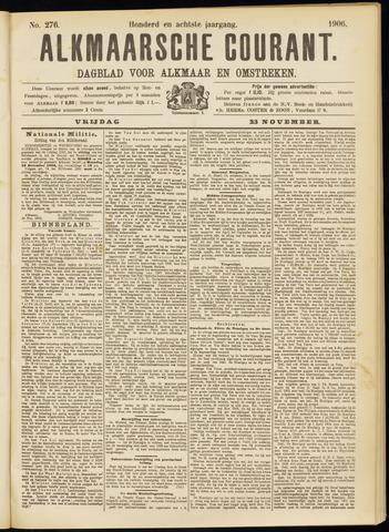 Alkmaarsche Courant 1906-11-23