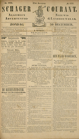 Schager Courant 1883-12-30