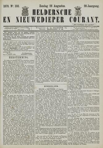 Heldersche en Nieuwedieper Courant 1870-08-28