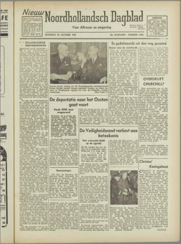 Nieuw Noordhollandsch Dagblad : voor Alkmaar en omgeving 1946-10-26