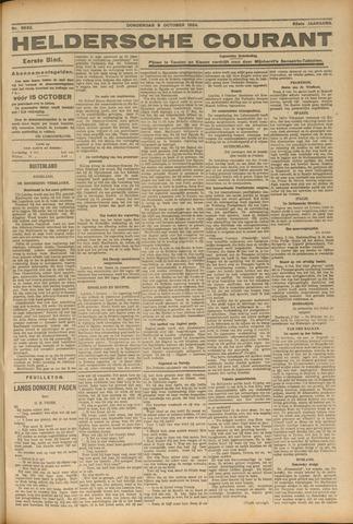 Heldersche Courant 1924-10-09