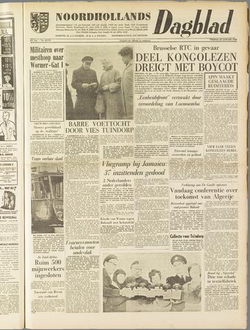 Noordhollands Dagblad : dagblad voor Alkmaar en omgeving 1960-01-22
