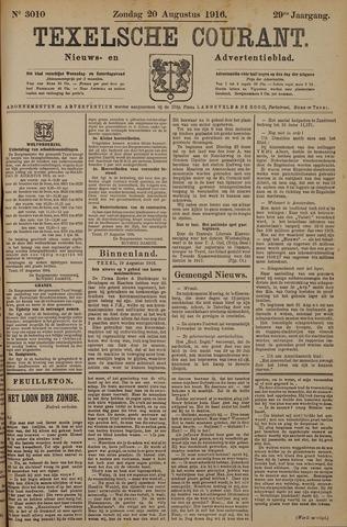 Texelsche Courant 1916-08-20