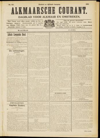 Alkmaarsche Courant 1913-06-09