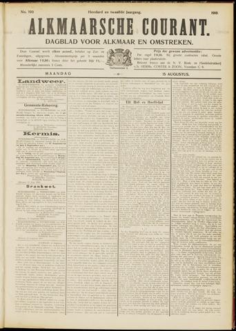 Alkmaarsche Courant 1910-08-15