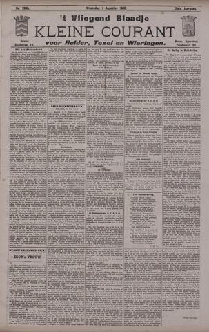 Vliegend blaadje : nieuws- en advertentiebode voor Den Helder 1900-08-01