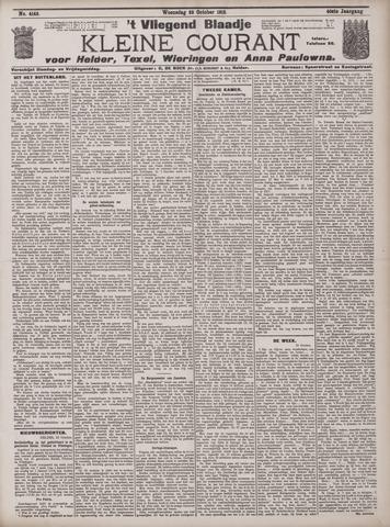 Vliegend blaadje : nieuws- en advertentiebode voor Den Helder 1912-10-23