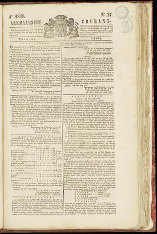 Alkmaarsche Courant 1848-07-03