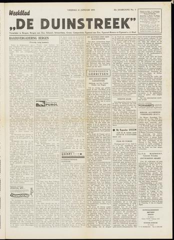 De Duinstreek 1955-01-21