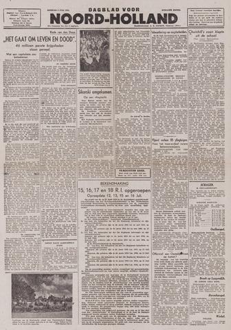 Dagblad Noord-Holland, Schager editie 1943-07-06