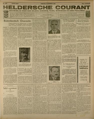 Heldersche Courant 1934-11-27