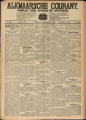 Alkmaarsche Courant 1930-08-13