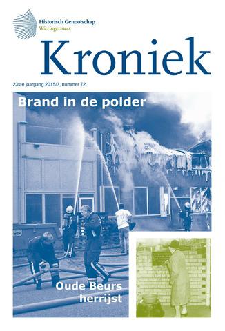 Kroniek Historisch Genootschap Wieringermeer 2015-12-01
