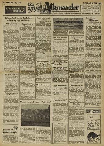 De Vrije Alkmaarder 1949-07-09