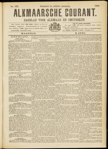 Alkmaarsche Courant 1906-06-11