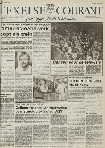 Texelsche Courant 1984-07-27