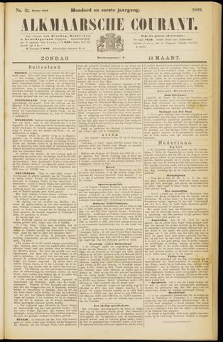 Alkmaarsche Courant 1899-03-12