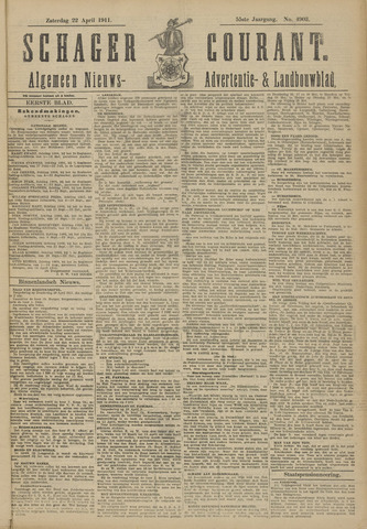 Schager Courant 1911-04-22