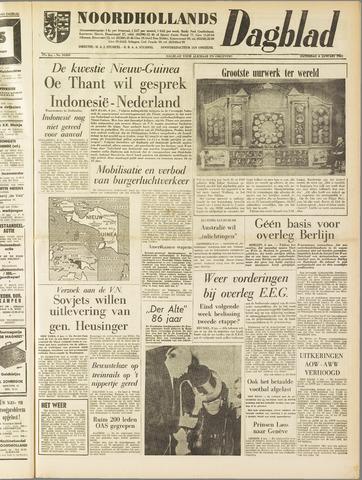 Noordhollands Dagblad : dagblad voor Alkmaar en omgeving 1962-01-06