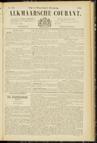 Alkmaarsche Courant 1893-12-01